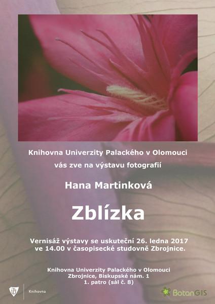 Hana Martinková: Zblízka